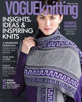 Vogue Knitting Early Fall 2016