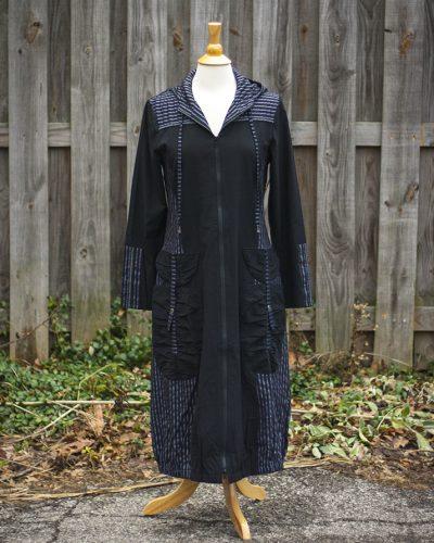 Dzhavael Hooded Raincoat